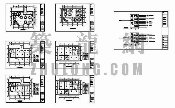 名粥城消防报建全套电路图、配电线路结线图