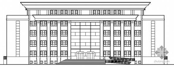 [尉犁县]某法院审判综合楼建筑结构施工图