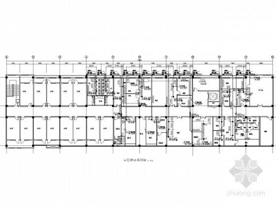 [安徽]药厂综合办公楼空调通风消防系统设计施工图(洁净空调)