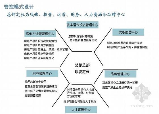 房地产公司组织与管控模式设计报告(项目组织与管控模式初步设计、管控流程)100页