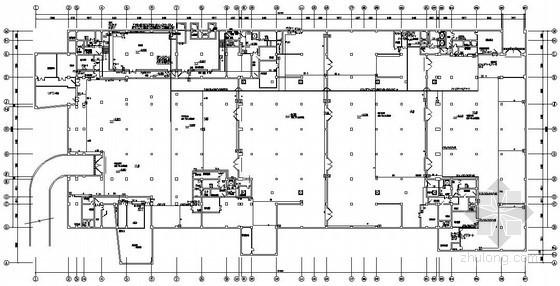 某办公楼火灾自动报警系统电气图纸