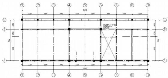 二层砌体结构办公楼结构施工图