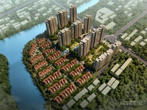 [浙江]某欧式住宅区规划及单体设计方案文本(含CAD)