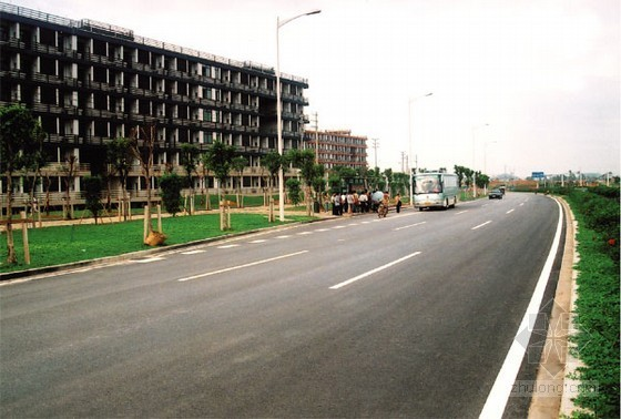 郑州市某开发区道路工程(投标)施工组织设计