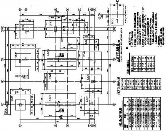 二层框架别墅结构施工图