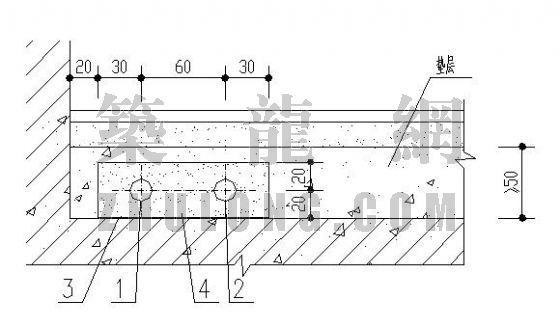 分户计量图库大全(5)-管道埋设在垫层内做法示意