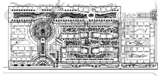 [河北]小区环境景观全套施工图-2