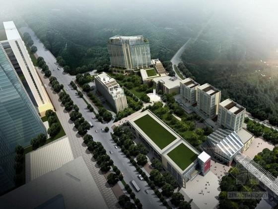 [贵州]18层五星酒店建筑设计方案文本(含CAD PPT)