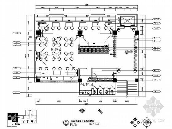 [陕西]五星级豪华商务酒店自助餐厅装修图(含效果)