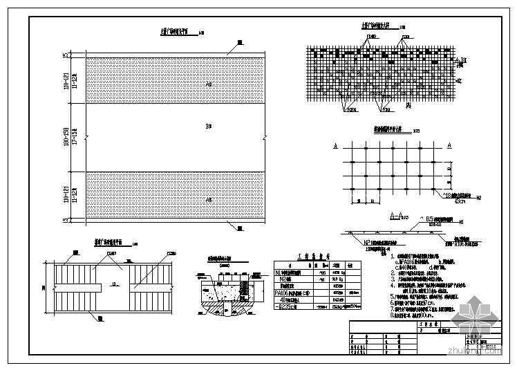 坂雪岗某大道市政工程人行钢结构天桥工程施工图设计