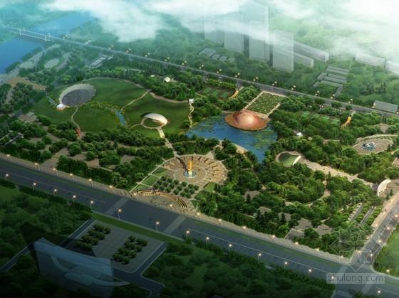 [内蒙古]市政综合公园景观设计方案(演示汇报)