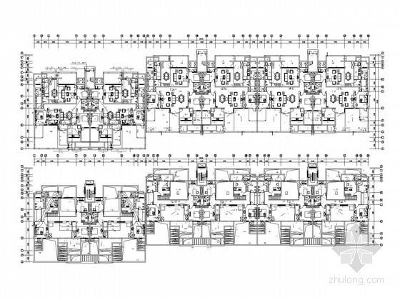 [湖南]知名房产综合商业住宅强弱电系统电气图93张