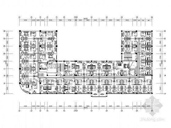 宾馆电气安装施工图纸(含多大样图)