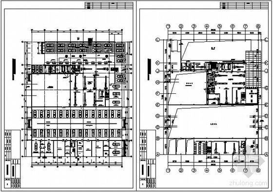 佛山某汽车展厅空调设计平面图