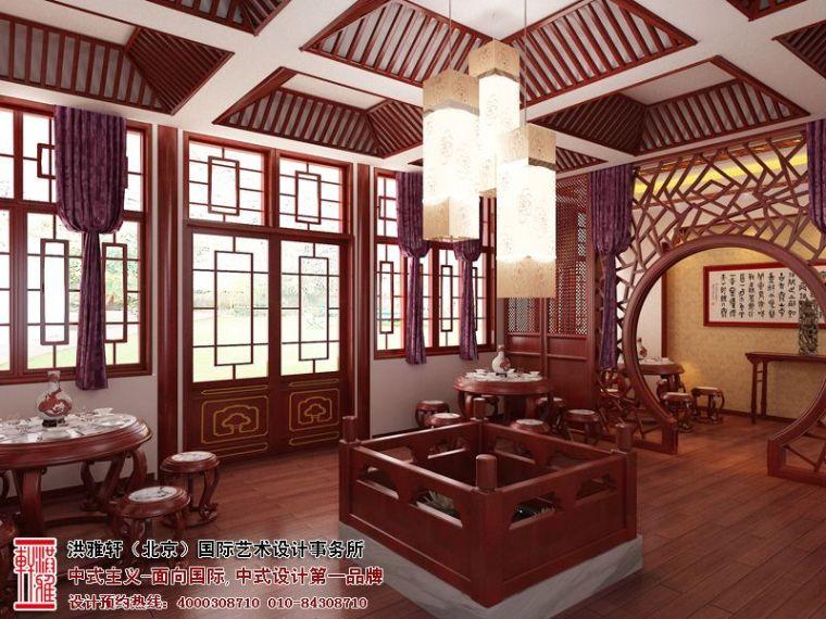 办公室中式装修-山西太原办公室中式装修,古朴典雅时尚风情第1张图片