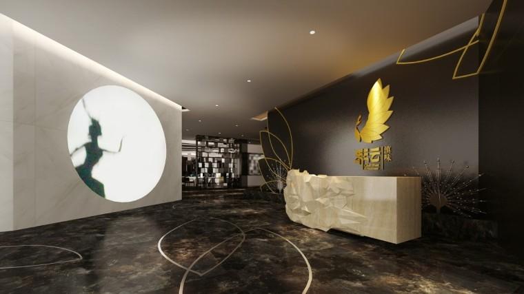 [北京]优雅唯美云南特色餐厅室内设计施工图(含效果图)_11
