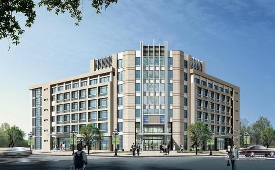 商务综合楼建筑安装工程量清单计价实例(广联达软件)