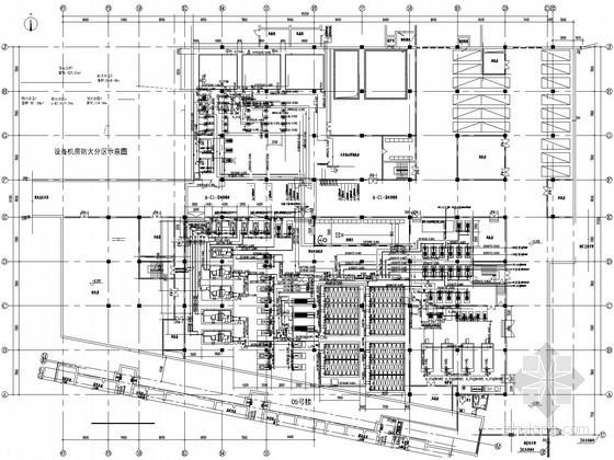 [上海]住宅小区能源中心设计施工图(冰蓄冷系统 供热系统 生活热水系统)
