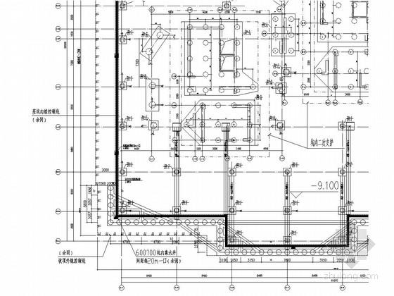 [福建]商住楼基坑支护施工图(桩撑及土钉墙)