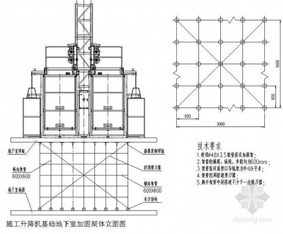 [内蒙古]高层商业办公楼施工升降机施工方案(SC200/200J)