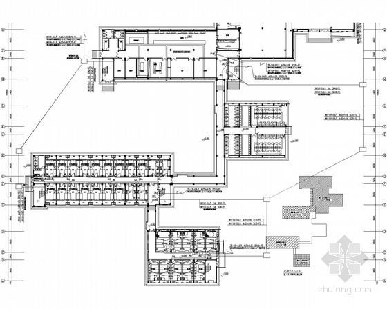 [湖南]综合实践基地生活楼电气设计施工图纸(宿舍、厨房、餐厅、浴室)