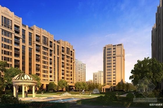 Artdeco风格高端住宅区规划效果图