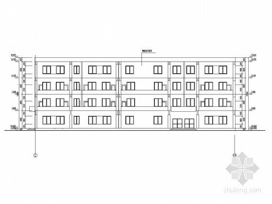 [学士]四层框架结构中学教学楼毕业设计(含建筑图、结构图、计算书)