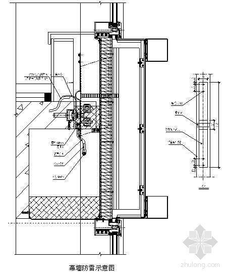 北京某电信通信机房楼幕墙工程施工组织设计(铝合金玻璃、金属铝板、不锈钢拉杆点支玻璃)(创鲁班奖)