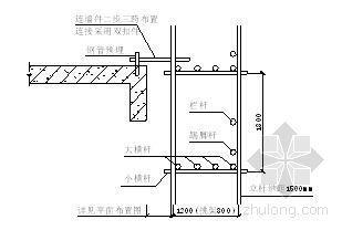 某高层框架核芯筒结构工程外脚手架施工方案
