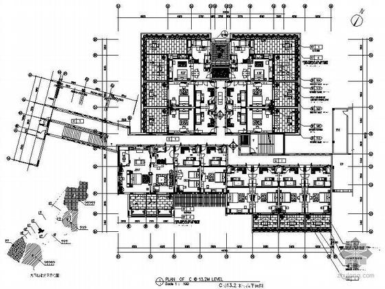 [宁波]某大酒店客房深化施工图