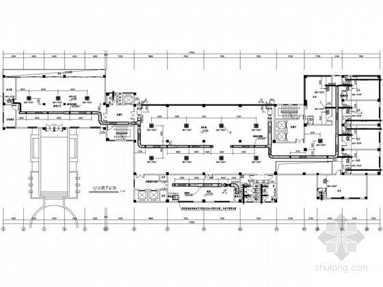 [四川]多层公共建筑空调通风与防排烟系统设计施工图