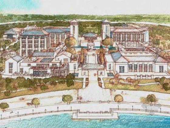 [上海]新中式风格度假酒店规划设计方案文本