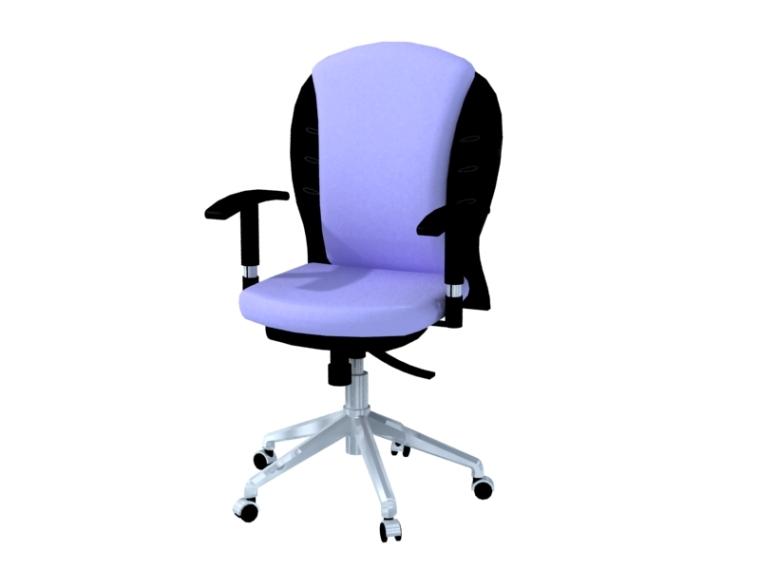 电脑椅子3D模型下载