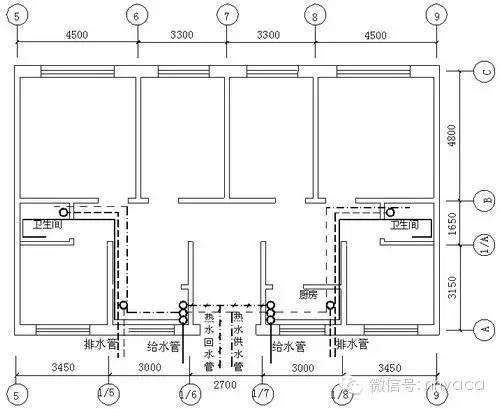 给排水安装工程施工图预算编制(实例)