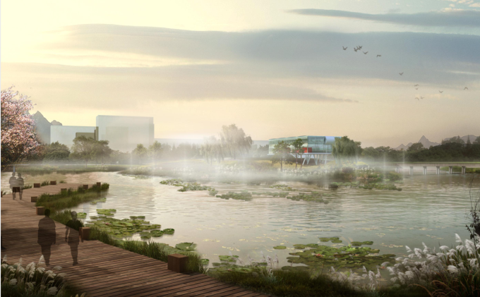 [江苏]民便河滨水区概念性规划方案汇报