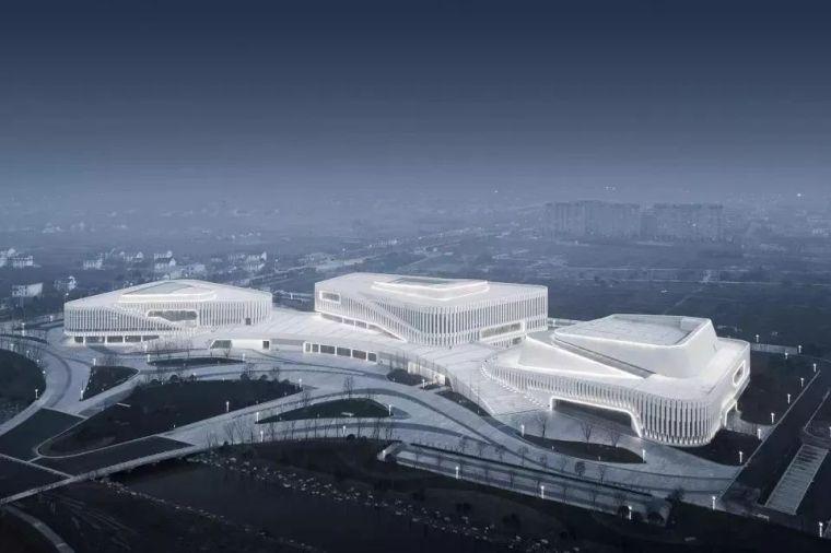 如日东升-如东文化中心,江苏/同济大学建筑设计研究院