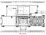 【山东】奢华五星级大酒店室内装饰全套施工图(附效果图)