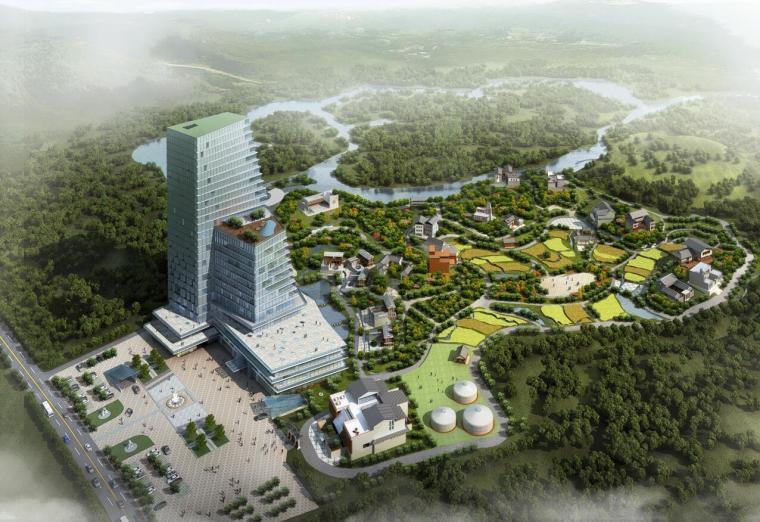 [四川]景民汇源全福名族文化旅游小镇建筑规划设计(62页)