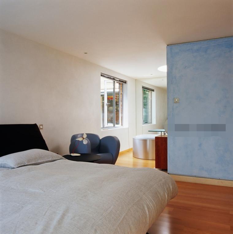二室一厅也可以打造出五星级酒店的感觉!