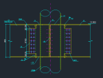 H型钢与钢管连接节点图