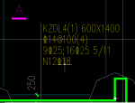 桩基础KZDL锚固长度