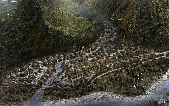 [合集]5套大型多层山地酒店建筑设计方案文本