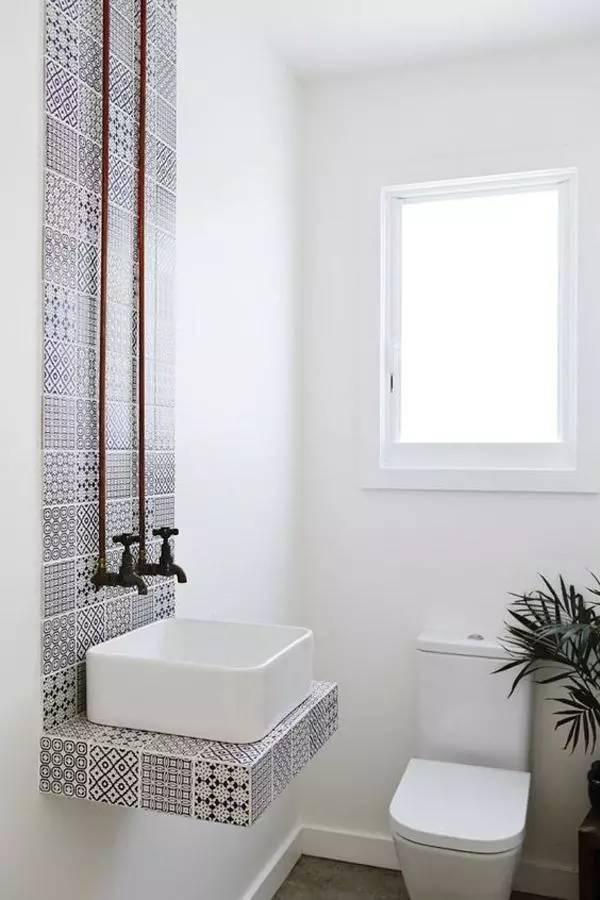 第一次发现,原来砖砌洗手台可以这么漂亮!