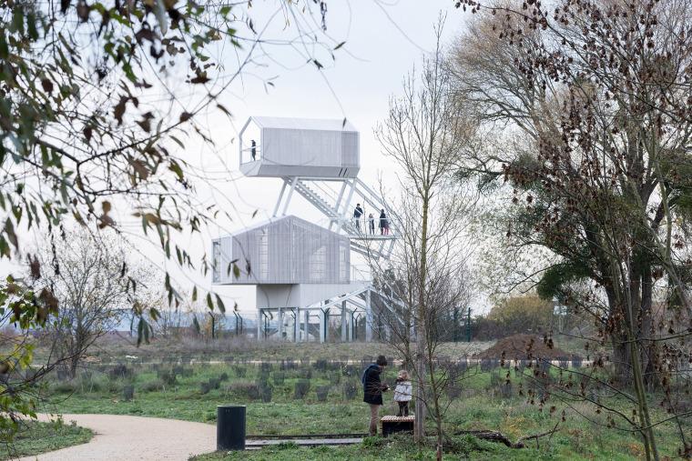 法国PrissyGalore博物馆与瞭望台景观