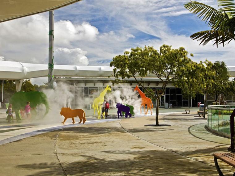 迈阿密动物园欢迎广场