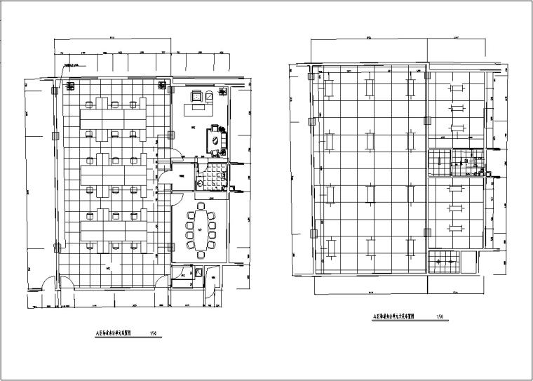 3套现代宾馆酒店建筑设计施工图CAD_17