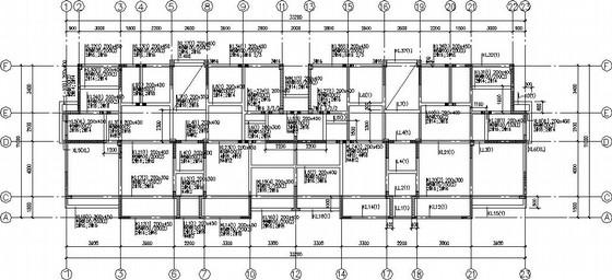 10层纯剪力墙住宅楼结构施工图(方管桩基础)