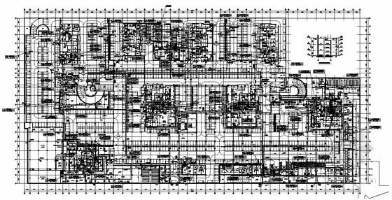 [辽宁]大型知名综合商场给排水全套图纸231张(含商场、裙房、5栋超高层)
