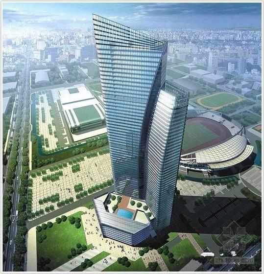 [江苏]55层框架剪力墙国际大厦部分梁板结构施工图