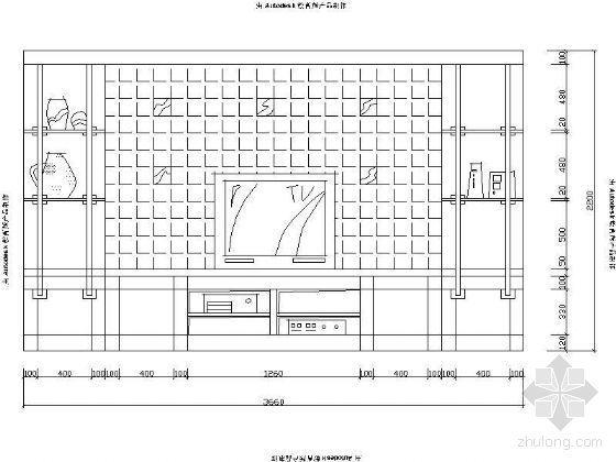 家具立面图块